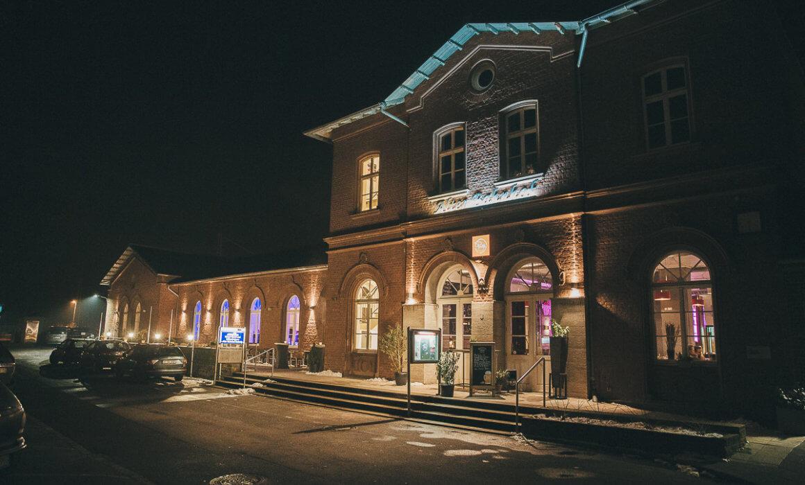 Hochzeitslocation alter Bahnhof Pamis